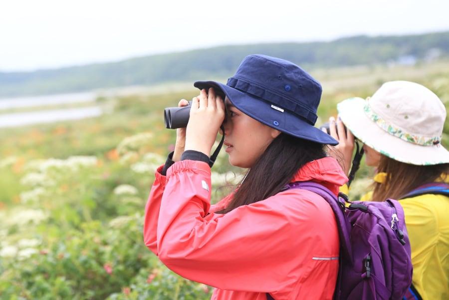 鳥と旅するまち小清水でバードウォッチングツアー
